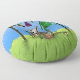 Sheep Floor Pillow