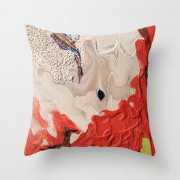 Striped Queen Throw Pillow