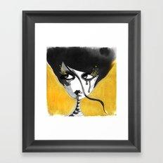 Royal Lash Framed Art Print