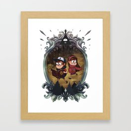 Gravity Falls Framed Art Print