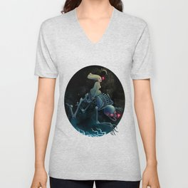Midnight Traveler Unisex V-Neck