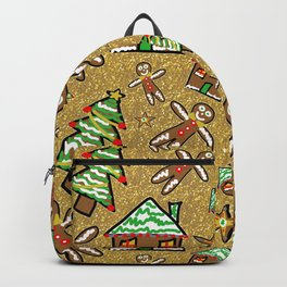 Gingerbread Family Christmas Backpack