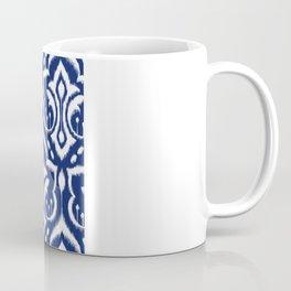 Ikat Damask Navy 2 Coffee Mug