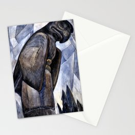 Emily Carr - Big Eagle, Skidegate - Canada, Canadian Oil Painting - Group of Seven Stationery Cards