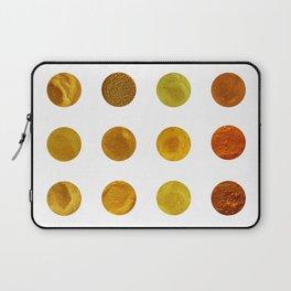 Yellow Pigments Laptop Sleeve