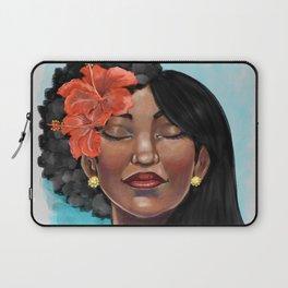 Hibiscus Versatile Afro Laptop Sleeve
