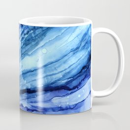 Cracked Blue Marble Coffee Mug