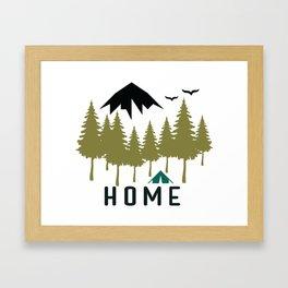 Wilderness Home Framed Art Print