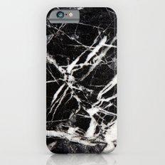 Vintage Black Marble Slim Case iPhone 6s