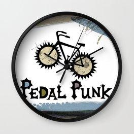 petal punk paint Wall Clock