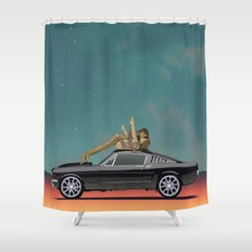Buy the Ticket Shower Curtain