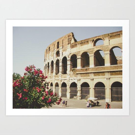WHEN IN ROME Art Print
