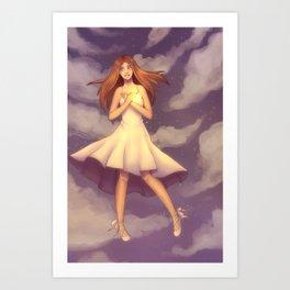 Falling Away Art Print