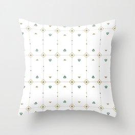 Jazzy Okami Pattern Throw Pillow