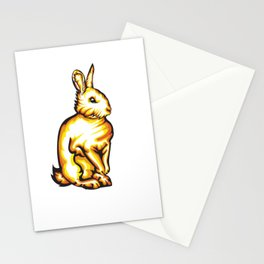 Angry Bunny Stationery Cards