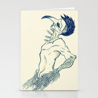 birdman Stationery Cards featuring Birdman by DogoD Art