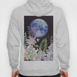 Succulent Full Moon #67 Hoody