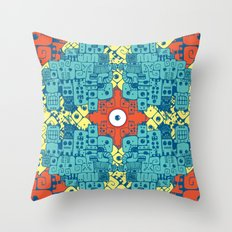 Jeroglyphic Throw Pillow
