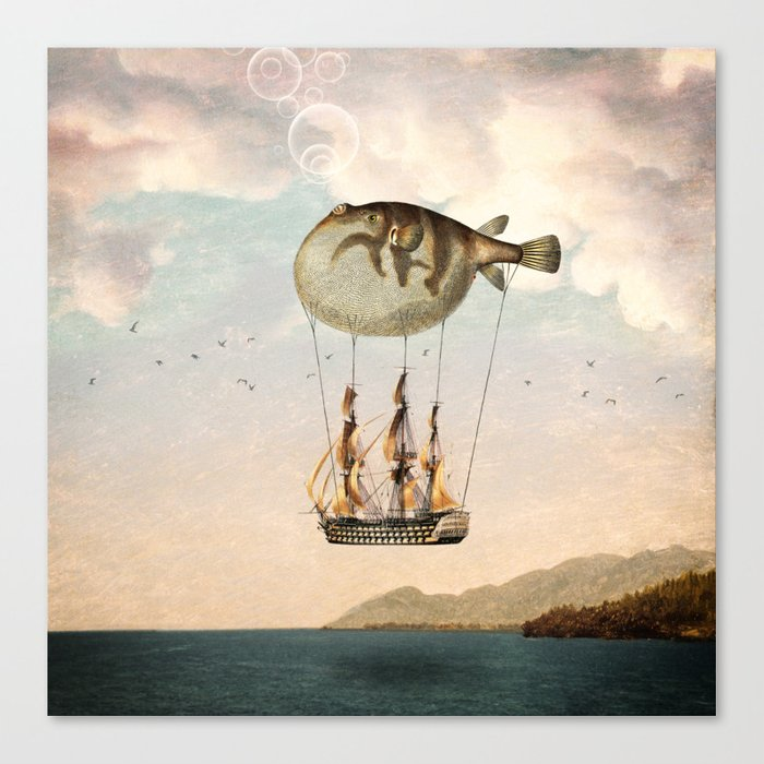 The Big Journey Canvas Print