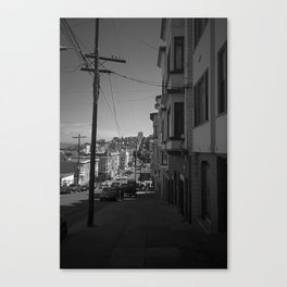 San Francisco Streets 2007 Canvas Print