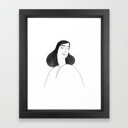 Lilie Framed Art Print