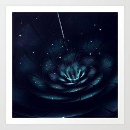 Endemic - 3D Bloom Fractal Print Art Print