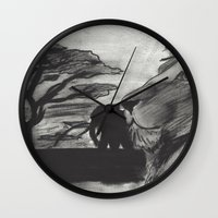 safari Wall Clocks featuring Safari by SaphronSunshine