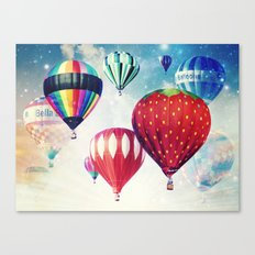 Dreaming of Hot Air Balloons Canvas Print
