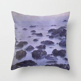 The sleep of stone islands Throw Pillow