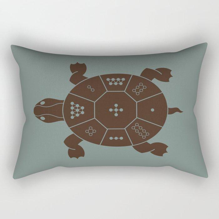Lo Shu Turtle Rectangular Pillow