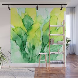 Spring Inspiration ~ Alcohol Ink Painting Wall Mural