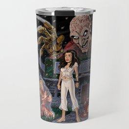 Nancy and Freddy Travel Mug
