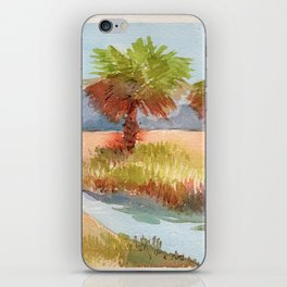 Ranch Palms iPhone Skin