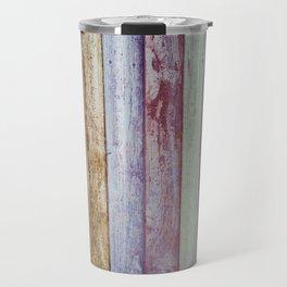 Color Wood Boards Travel Mug