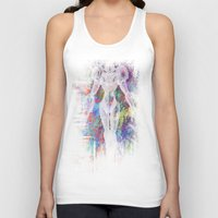 metroid Tank Tops featuring Metroid by Bradley Bailey