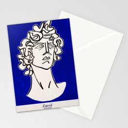 David Michelangelo statue Stationery Cards