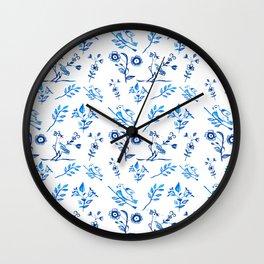 Ceramic Portuguese -Pattern Wall Clock