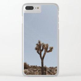 JOSHUA TREE / California Clear iPhone Case