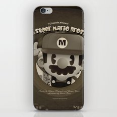 Mario Bros Fan Art iPhone & iPod Skin