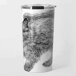 fluffy kitten Travel Mug