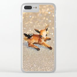 It's Snowing, my Deer Clear iPhone Case