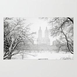 Winter - Central Park - New York City Rug