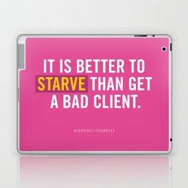 Better to Starve Laptop & iPad Skin