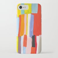 library iPhone & iPod Cases featuring Library by Emily Rickard