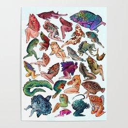 Reverse Mermaids Poster