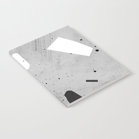 painted terrazzo 3 Notebook