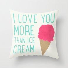 Sweet Summer Love Throw Pillow