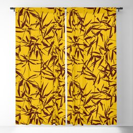 JUNGLIA PALM GOLD Blackout Curtain