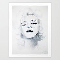 Marilyn '62 Art Print