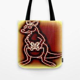 The Flying Kangaroo & It's Joey Tote Bag